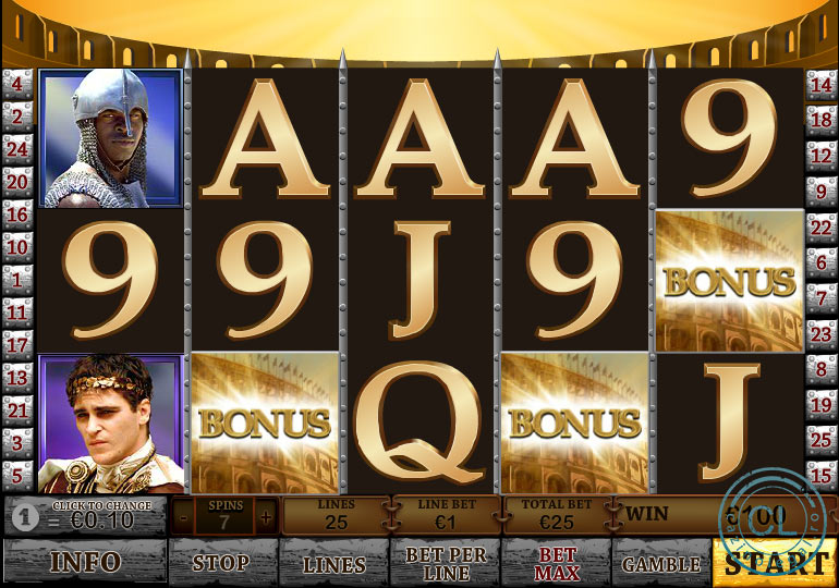 gladiator bonus
